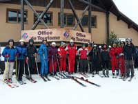 Sport Adapte groupe Ski Club Reallon